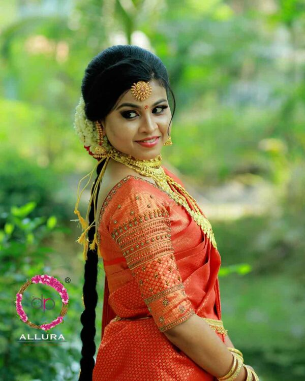 Kerala Bridal Blouse Embroidery