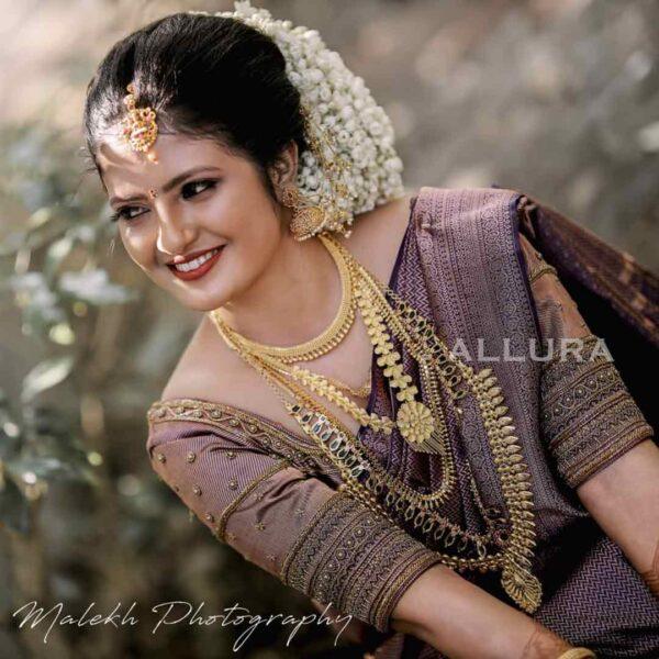 Kerala Wedding Designer Blouse